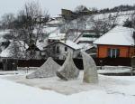 Bolyai János emlékmű avatása Marosvásárhelyen