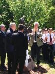 Assisi Szent Ferenc emlékmű avatása