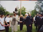 I. András szoboravatás Ópusztaszer - Nemzeti park